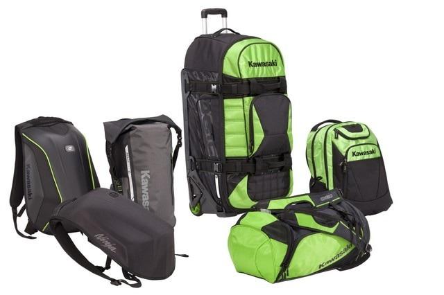 Kawasaki firma una nuova linea di Travel Bag