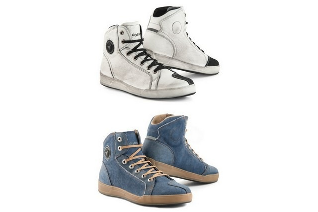 Un look casual per le nuove sneakers di Stylmartin