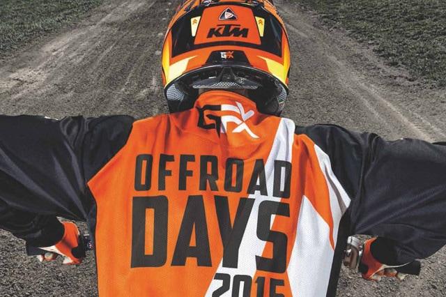KTM Offroad Days in pista