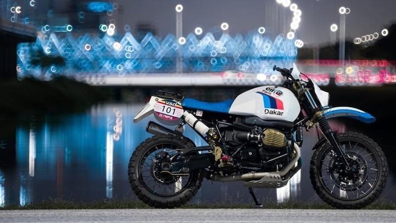 BMW R nineT Urban G/S, ecco la versione Dakar di Ek Chalermphol