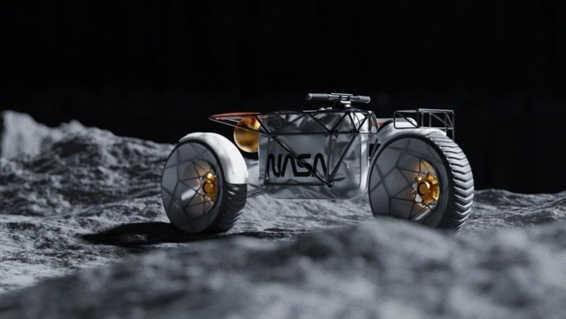 NASA Motorcycle, da un designer la moto per viaggiare sulla Luna