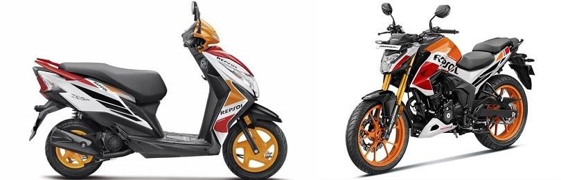 Honda, naked e scooter dedicati a Marc Marquez