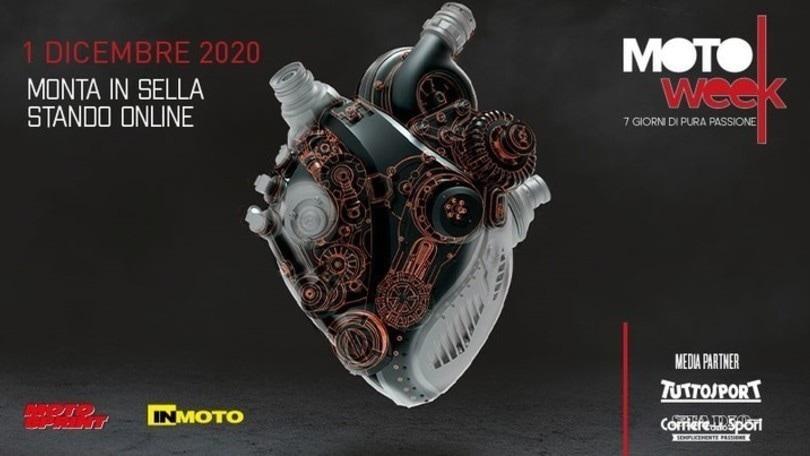 MotoWeek: oggi è il giorno, al via l'evento digitale più atteso dal mondo delle due ruote