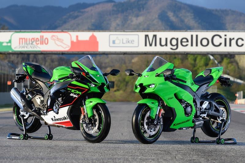 Kawasaki: la nuova Ninja ZX-10R (ed RR) in passerella al Mugello