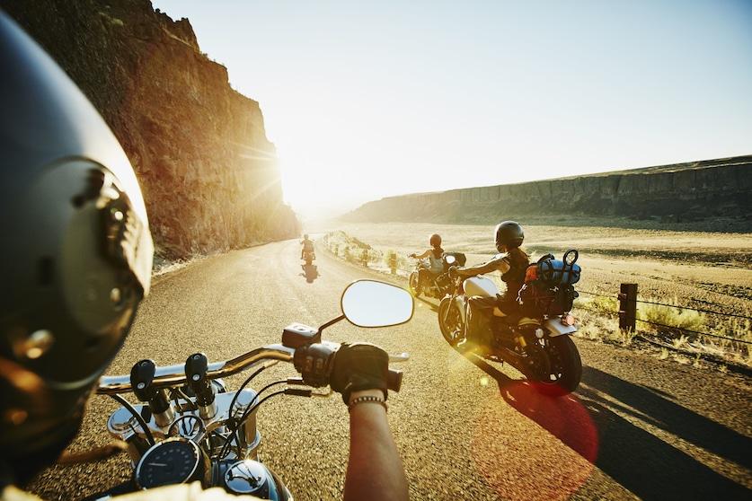 Siete appassionati di moto? Grazie anche al vostro... olfatto