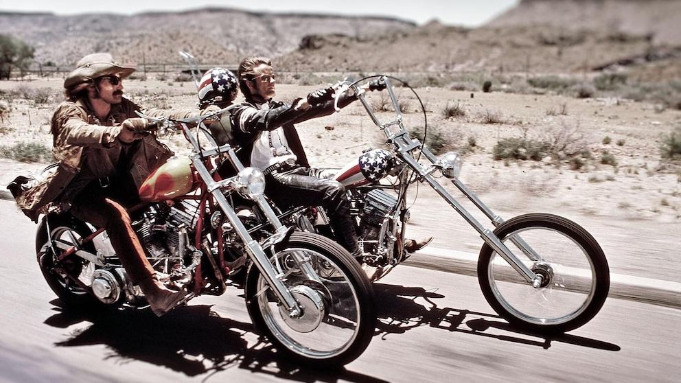 Easy Rider, un film icona del motociclismo che non parla di moto