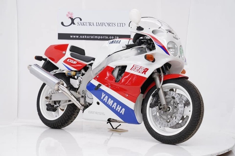 Yamaha FZR 750R OW01, all'asta raro esemplare del 1989