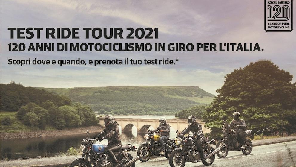 Royal Enfield: le date del Test Ride Tour 2021
