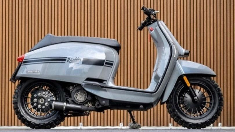 """Lambretta """"Lamblo"""" Custom by K-Speed: il mitico scooter si fa aggressivo"""