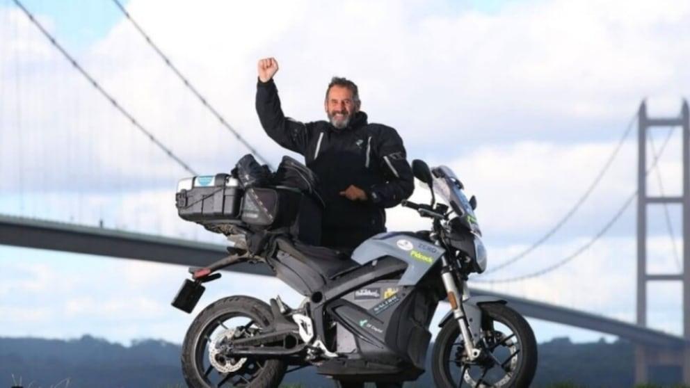 L'impresa con la Zero Motorcycles S: il giro del Regno Unito in 21 giorni
