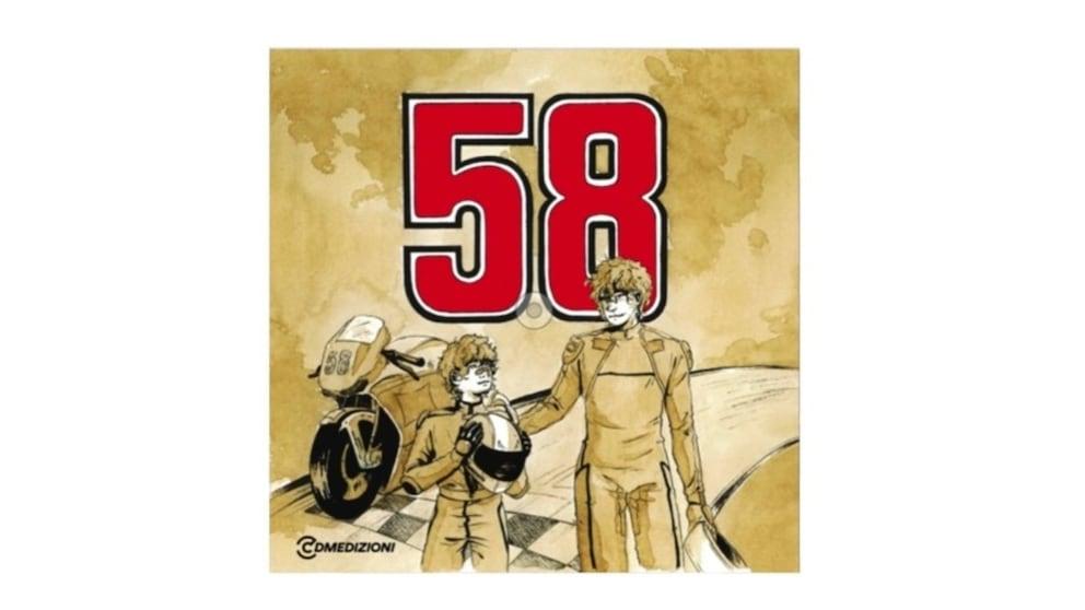 """La vita di Simoncelli diventa una favola: arriva in libreria """"58"""""""